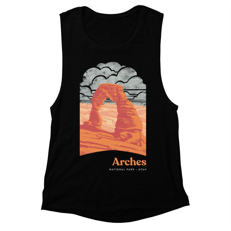 Arches National Park Women's Muscle Tank by Waynem