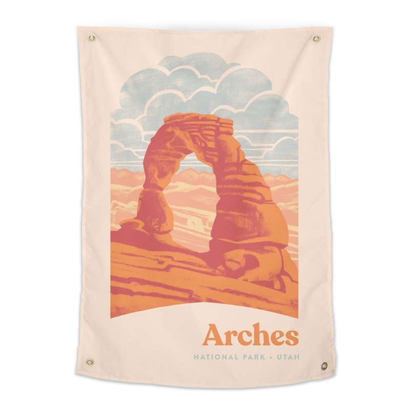 Arches National Park Home Tapestry by Waynem
