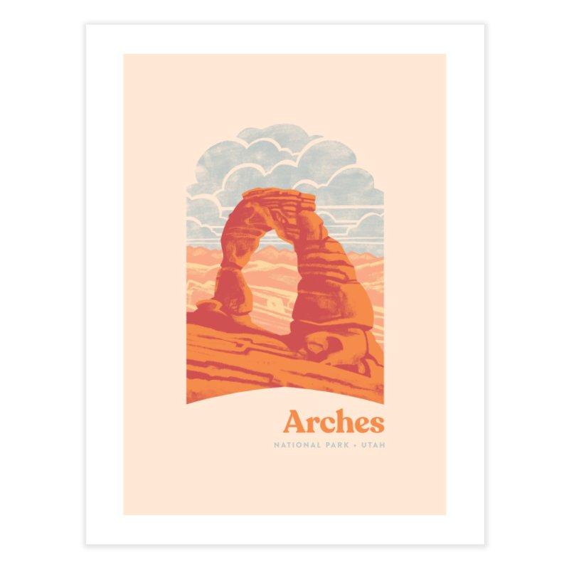 Arches National Park Home Fine Art Print by Waynem