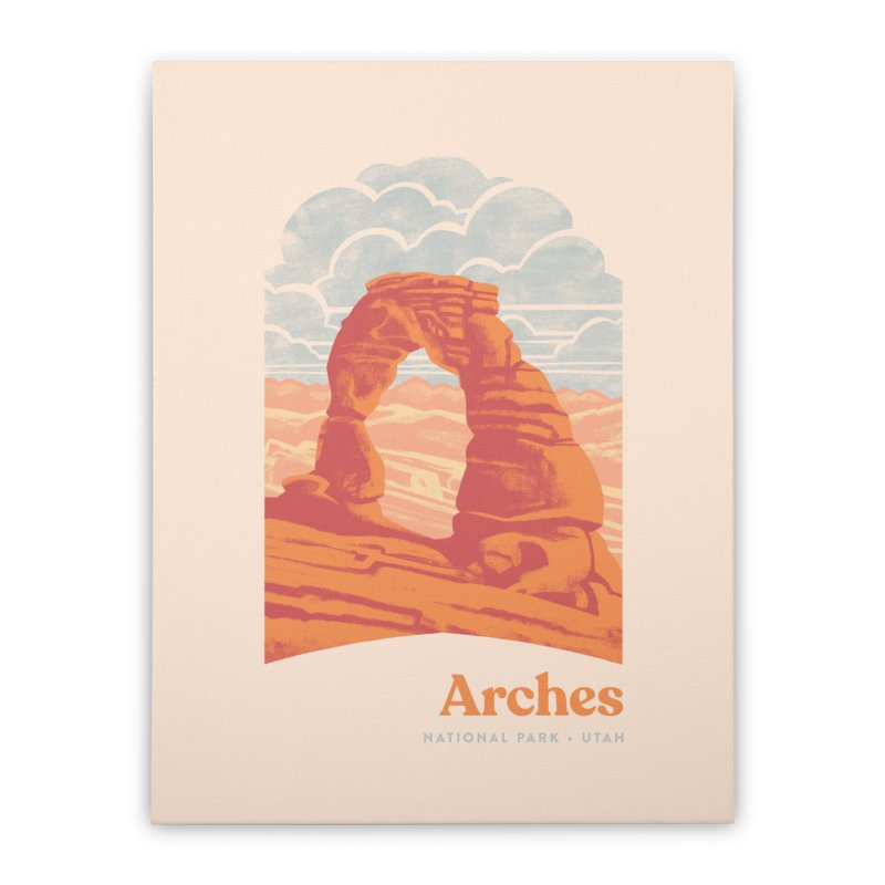 Arches National Park Home Stretched Canvas by Waynem