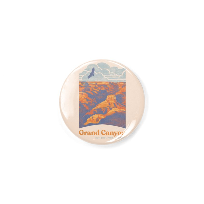 Grand Canyon Accessories Button by Waynem