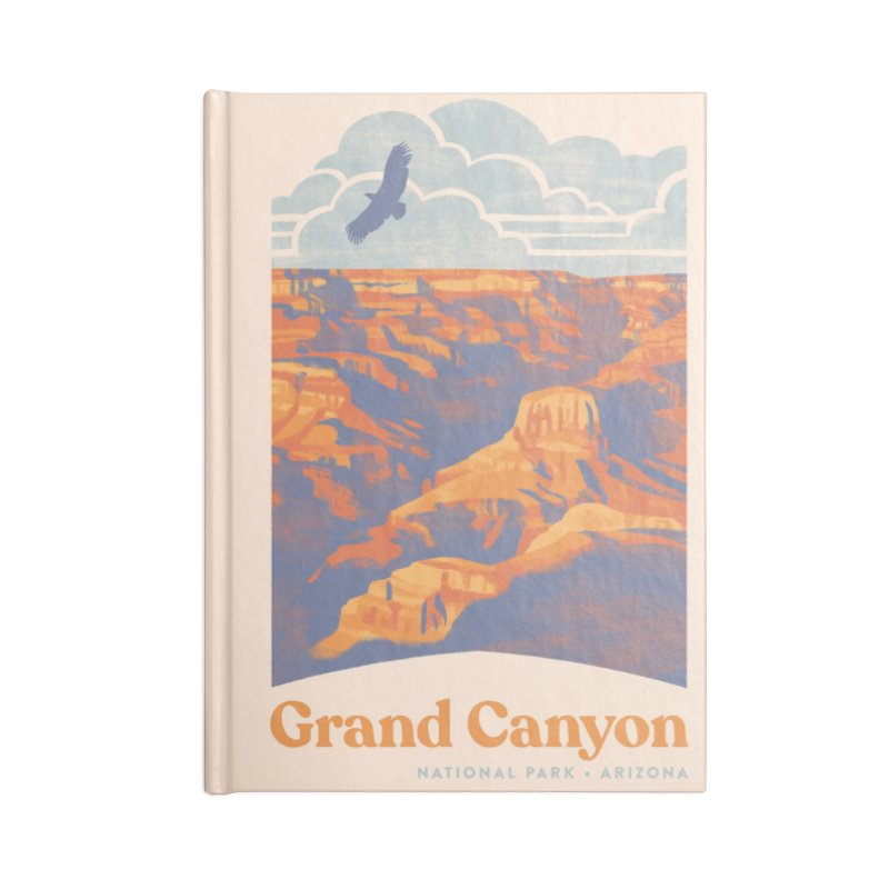 Grand Canyon Accessories Lined Journal Notebook by Waynem
