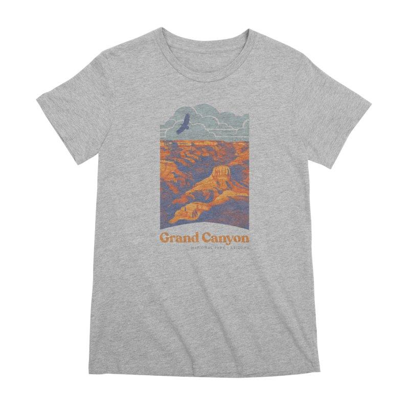 Grand Canyon Women's Premium T-Shirt by Waynem