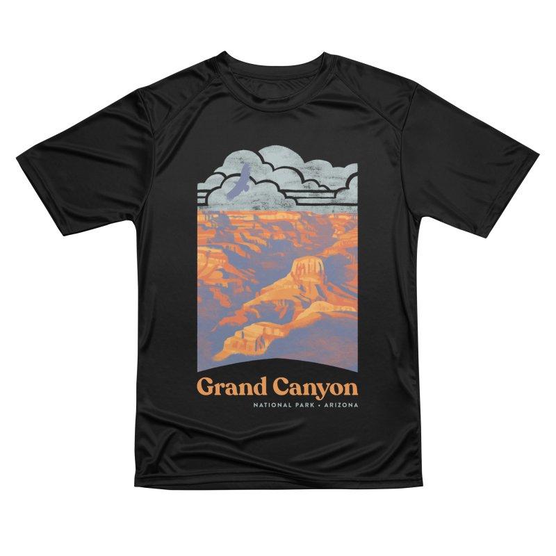 Grand Canyon Women's Performance Unisex T-Shirt by Waynem