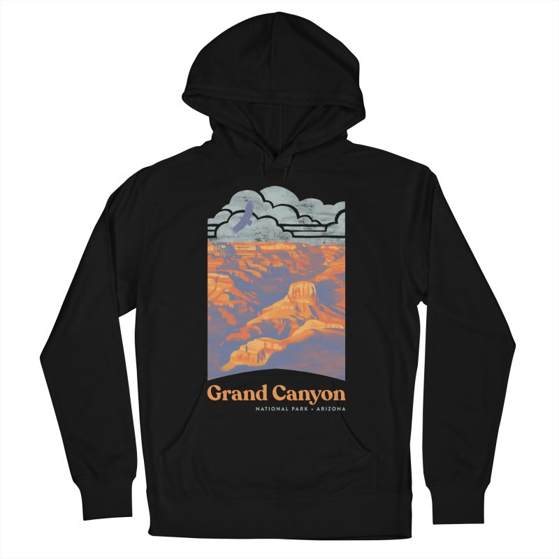 Grand Canyon Men's French Terry Pullover Hoody by Waynem