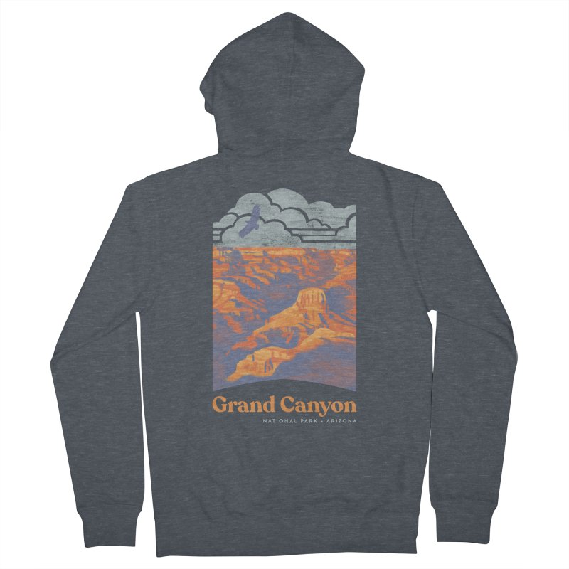 Grand Canyon Women's French Terry Zip-Up Hoody by Waynem
