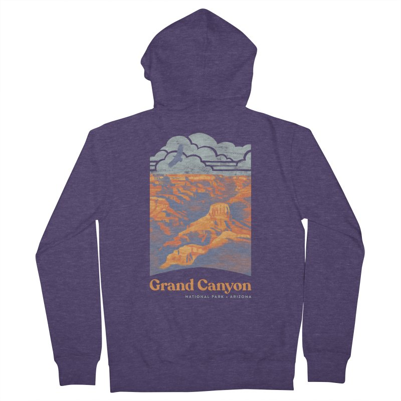 Grand Canyon Men's French Terry Zip-Up Hoody by Waynem