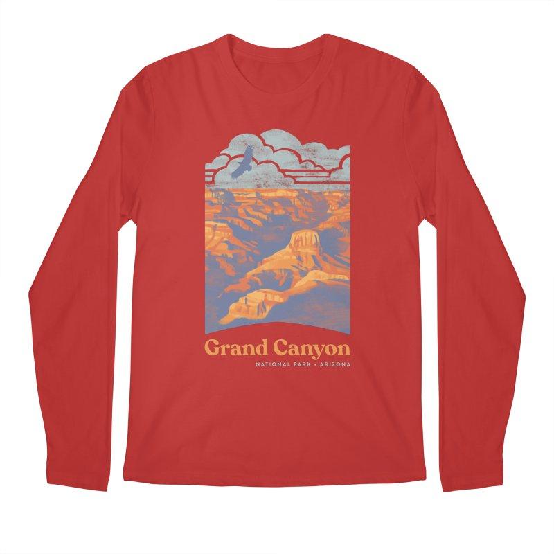 Grand Canyon Men's Regular Longsleeve T-Shirt by Waynem