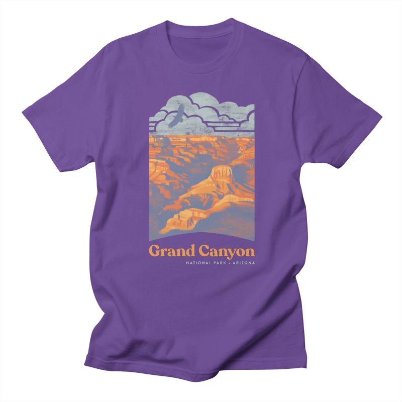 Grand Canyon Men's Regular T-Shirt by Waynem