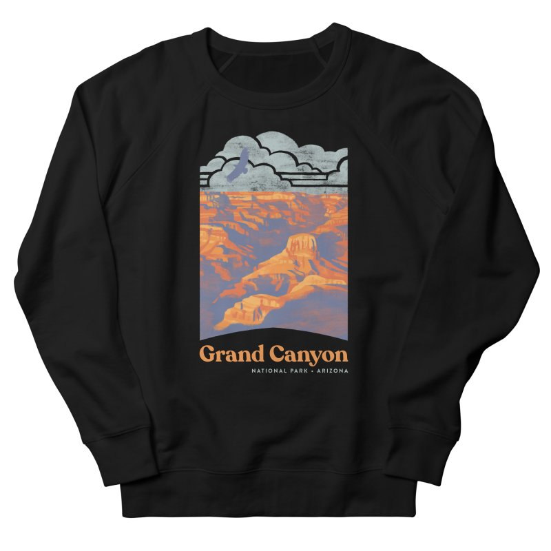 Grand Canyon Women's French Terry Sweatshirt by Waynem