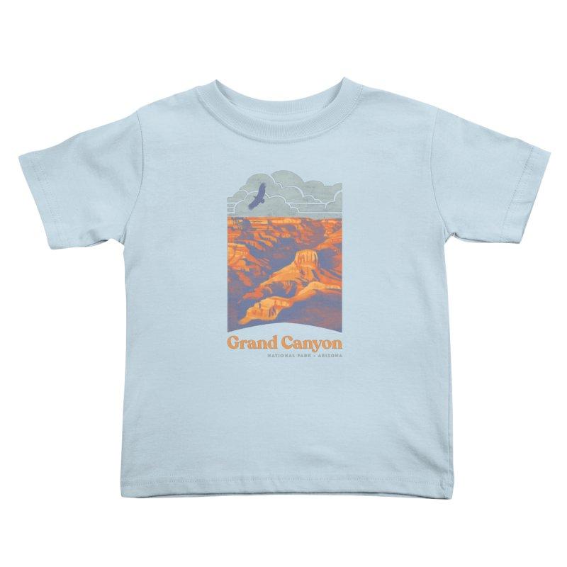 Grand Canyon Kids Toddler T-Shirt by Waynem