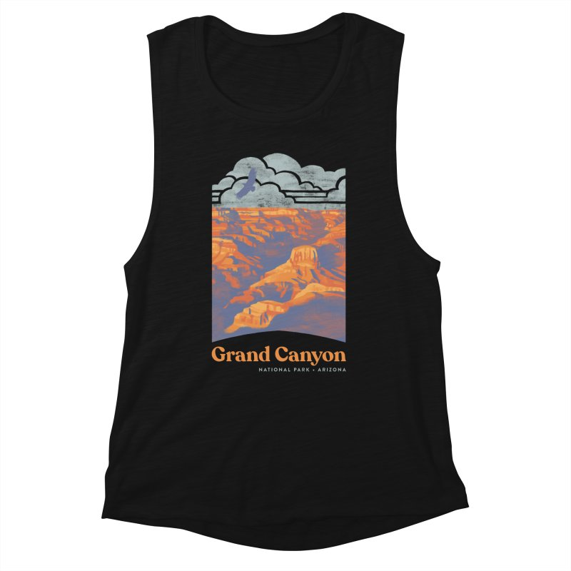 Grand Canyon Women's Muscle Tank by Waynem