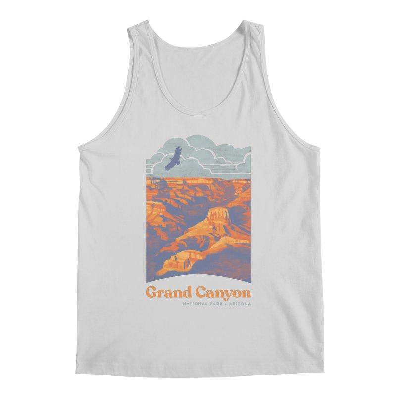 Grand Canyon Men's Regular Tank by Waynem