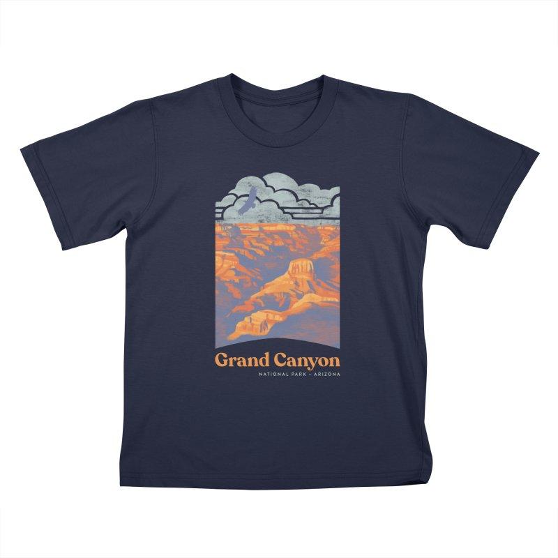 Grand Canyon Kids T-Shirt by Waynem