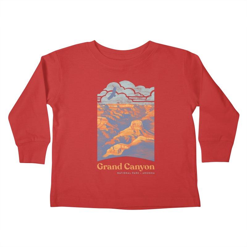 Grand Canyon Kids Toddler Longsleeve T-Shirt by Waynem