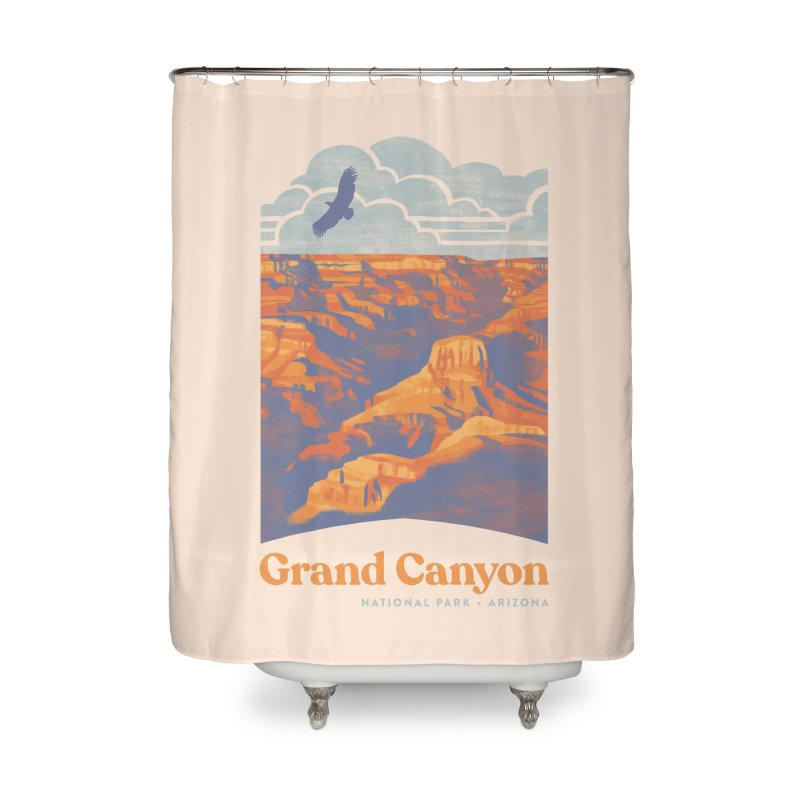 Grand Canyon Home Shower Curtain by Waynem