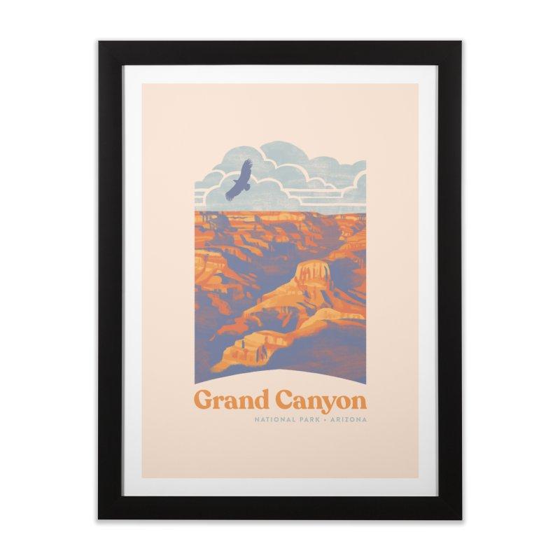 Grand Canyon Home Framed Fine Art Print by Waynem