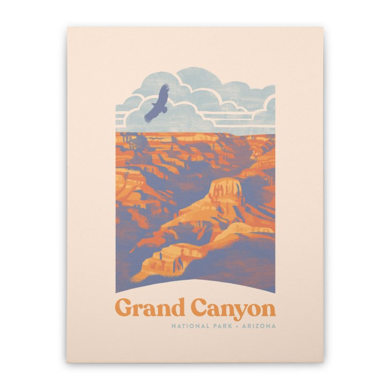 Grand Canyon Home Stretched Canvas by Waynem
