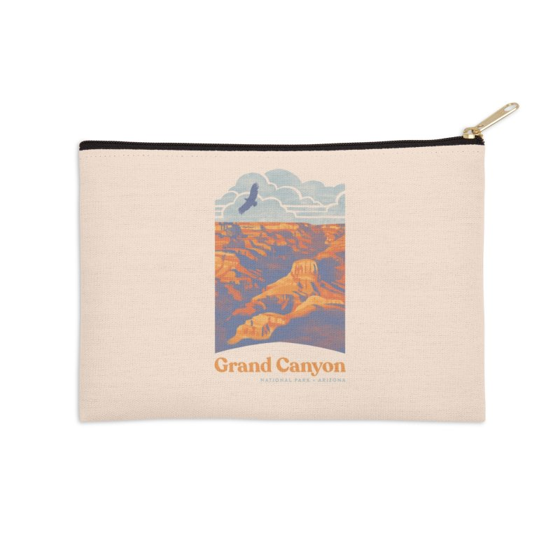 Grand Canyon Accessories Zip Pouch by Waynem