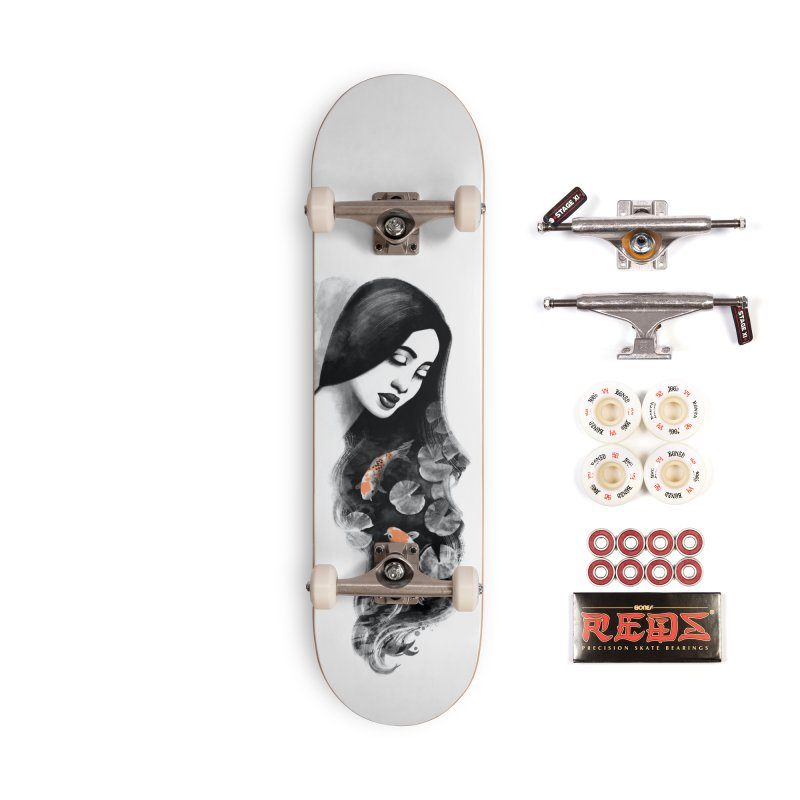 Koi Pond Dreaming Accessories Complete - Pro Skateboard by Waynem
