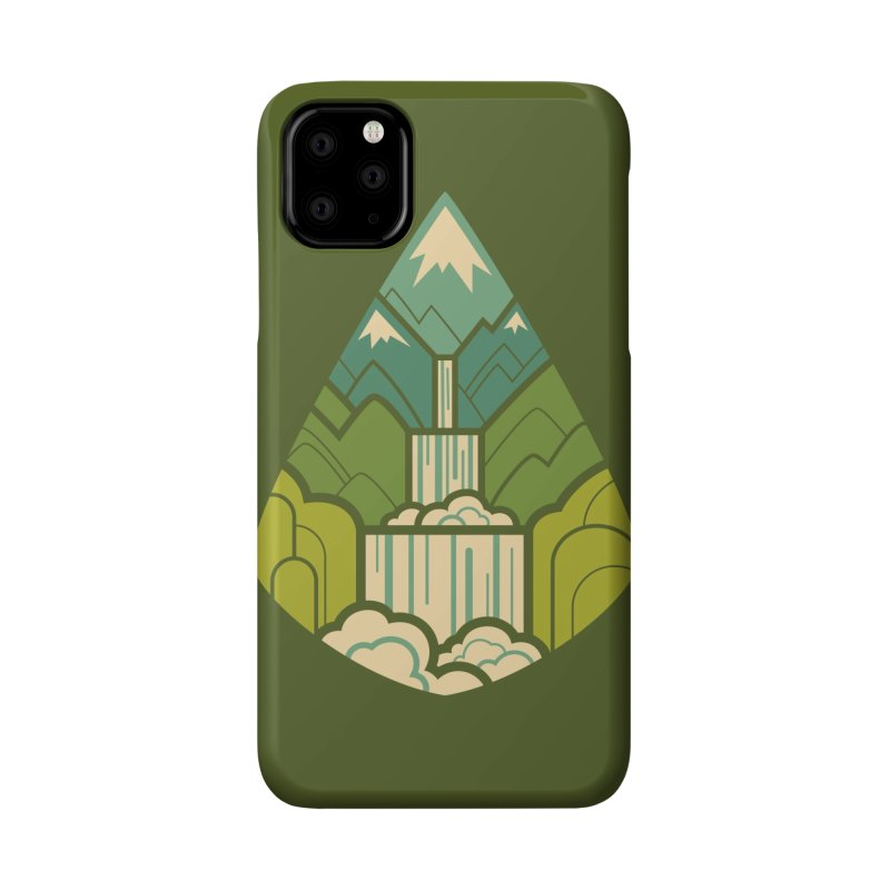 Mountain Cascade Accessories Phone Case by Waynem