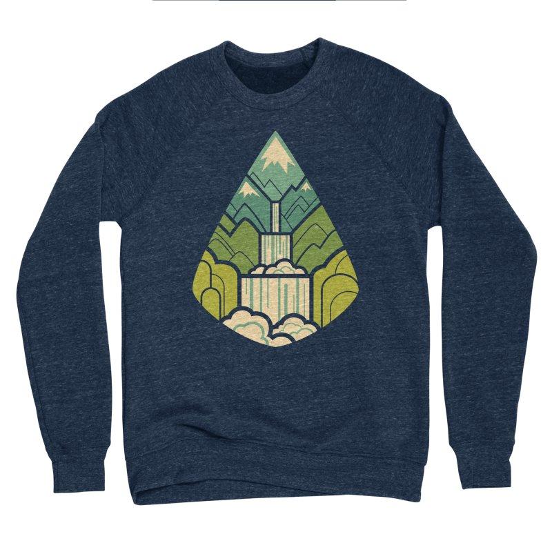Mountain Cascade Men's Sponge Fleece Sweatshirt by Waynem