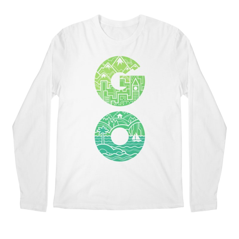 GO Men's Longsleeve T-Shirt by Waynem