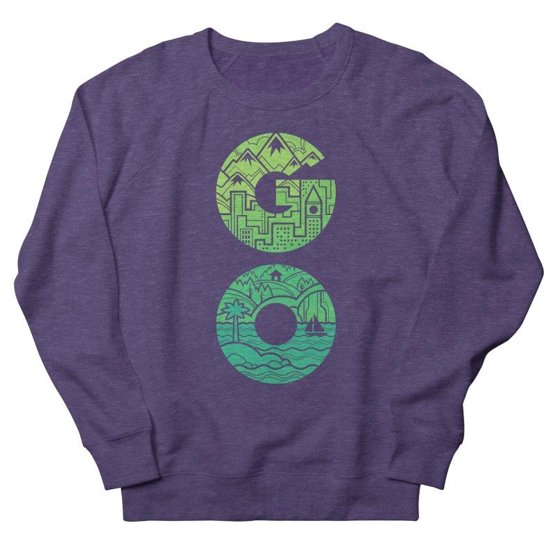 GO Men's Sweatshirt by Waynem