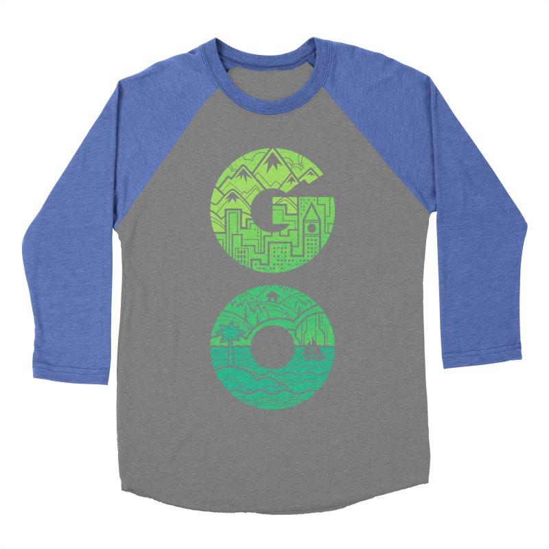 GO Women's Baseball Triblend T-Shirt by Waynem