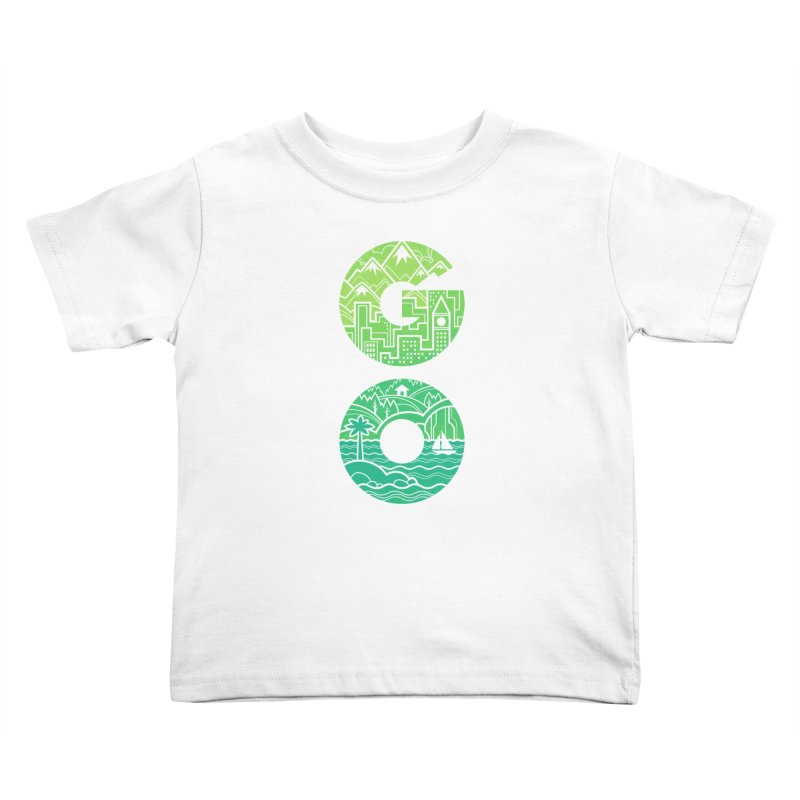 GO Kids Toddler T-Shirt by Waynem