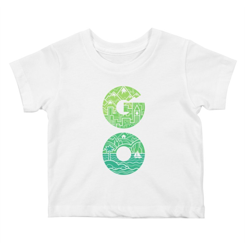 GO Kids Baby T-Shirt by Waynem