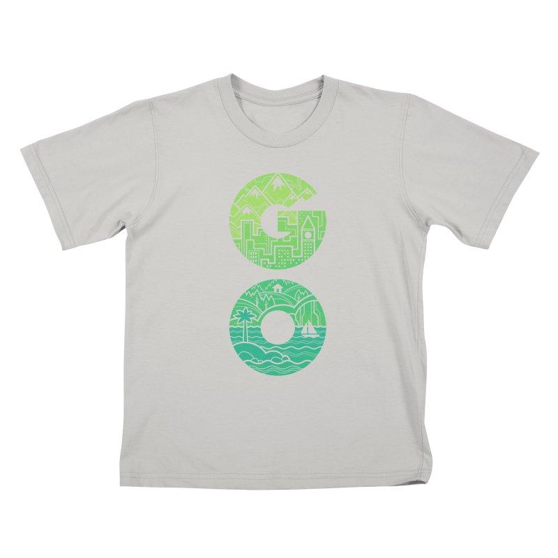 GO Kids T-shirt by Waynem