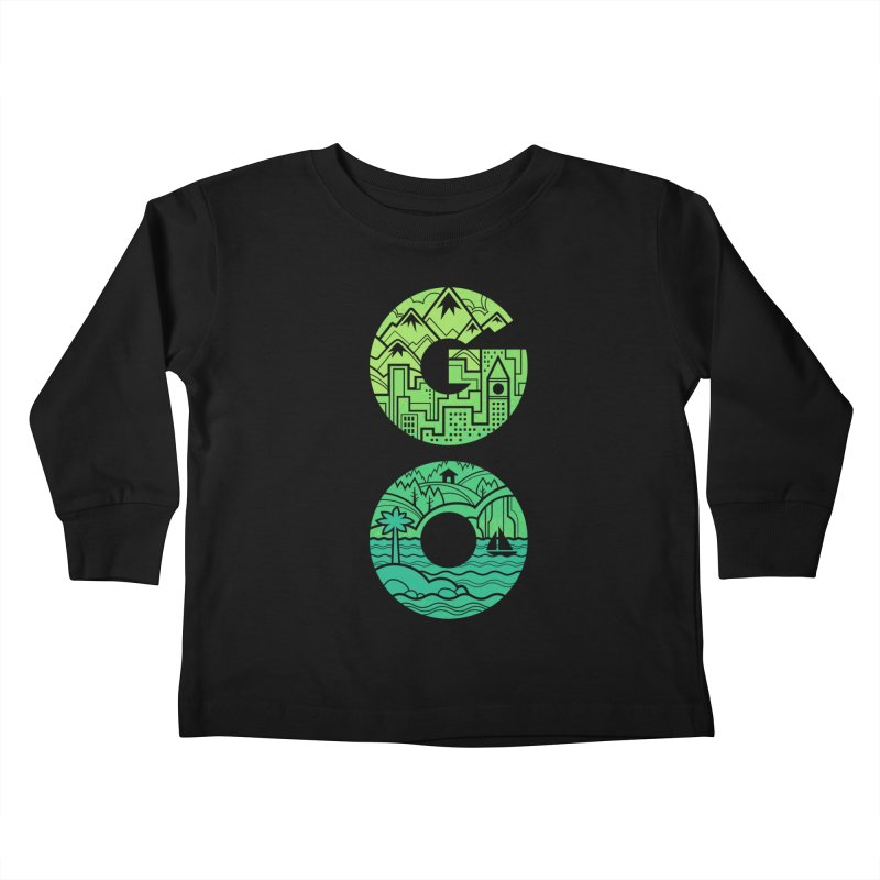 GO Kids Toddler Longsleeve T-Shirt by Waynem