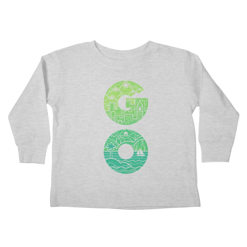 GO Kids Toddler Longsleeve T-Shirt by Waynem