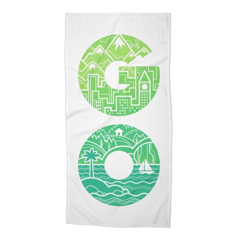 GO Accessories Beach Towel by Waynem