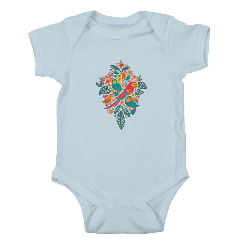 Tropicana Kids Baby Bodysuit by Waynem