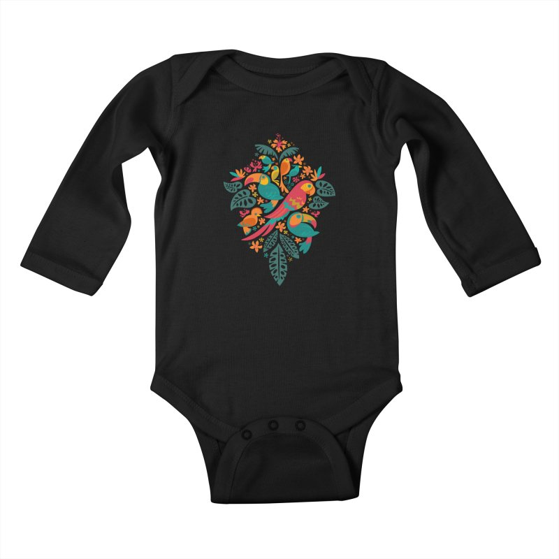 Tropicana Kids Baby Longsleeve Bodysuit by Waynem