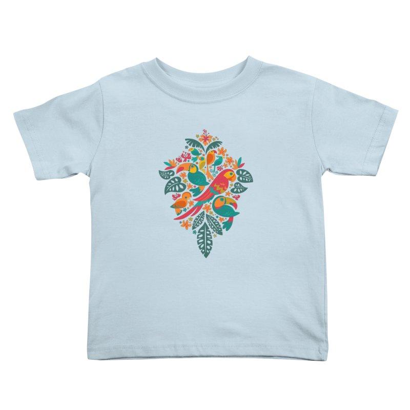 Tropicana Kids Toddler T-Shirt by Waynem