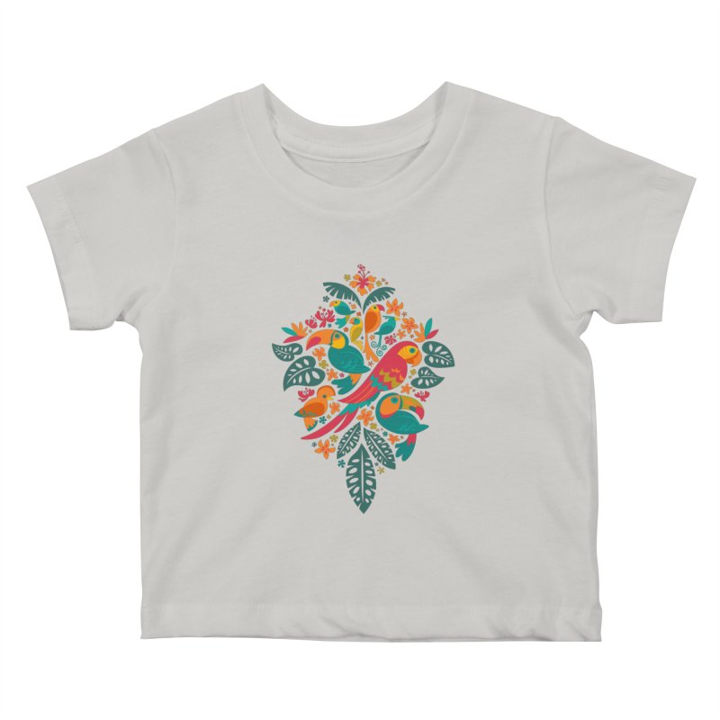 Tropicana Kids Baby T-Shirt by Waynem