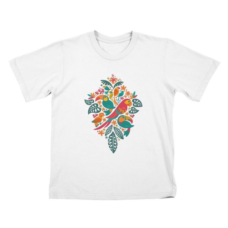 Tropicana Kids T-Shirt by Waynem