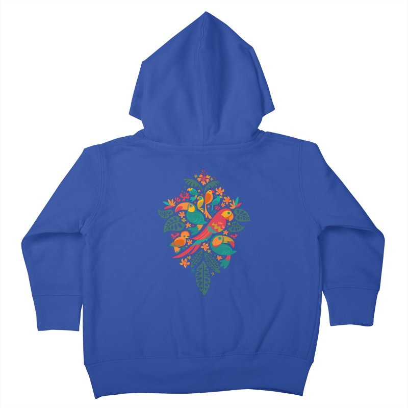 Tropicana Kids Toddler Zip-Up Hoody by Waynem