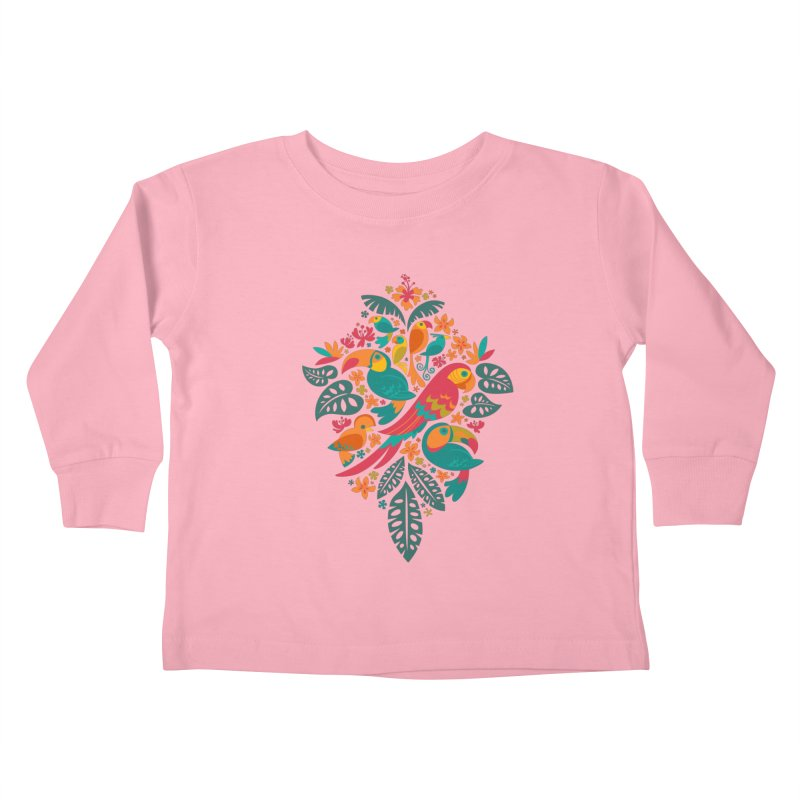 Tropicana Kids Toddler Longsleeve T-Shirt by Waynem