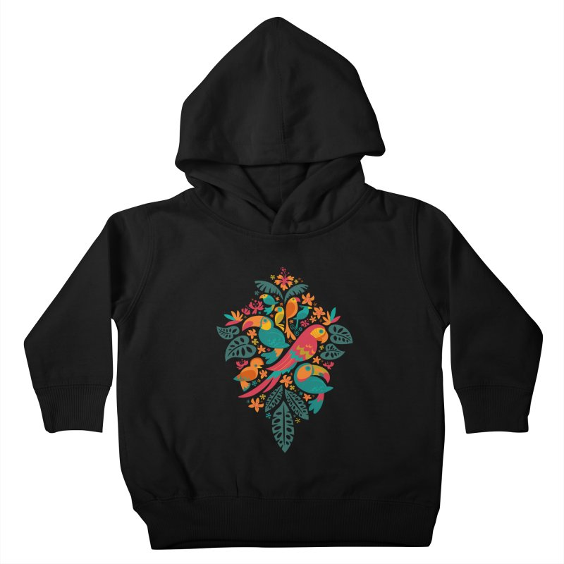 Tropicana Kids Toddler Pullover Hoody by Waynem