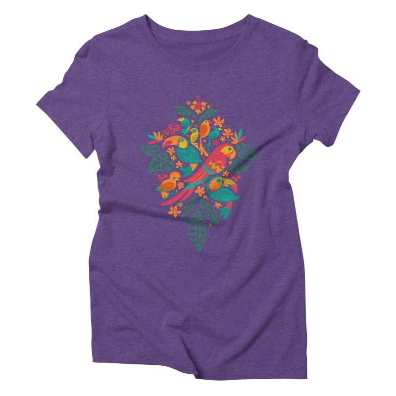 Tropicana Women's Triblend T-shirt by Waynem