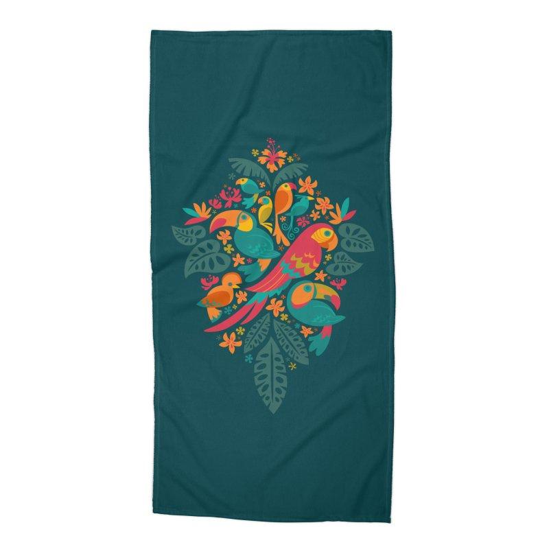 Tropicana Accessories Beach Towel by Waynem