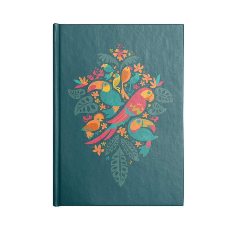 Tropicana Accessories Notebook by Waynem