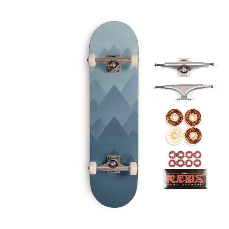 Mountain Vista : Grey Accessories Skateboard by Waynem