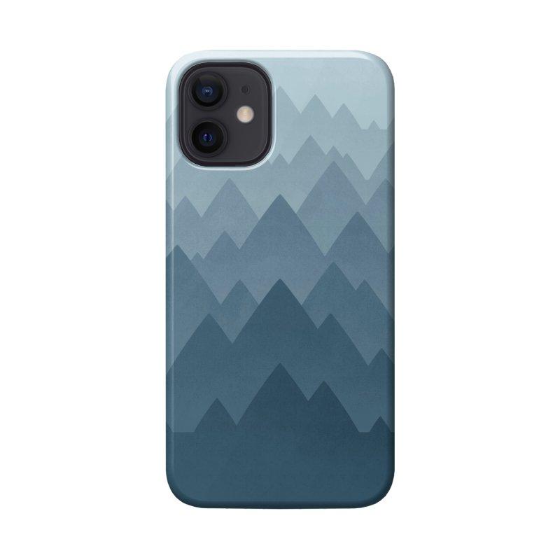Mountain Vista : Grey Accessories Phone Case by Waynem