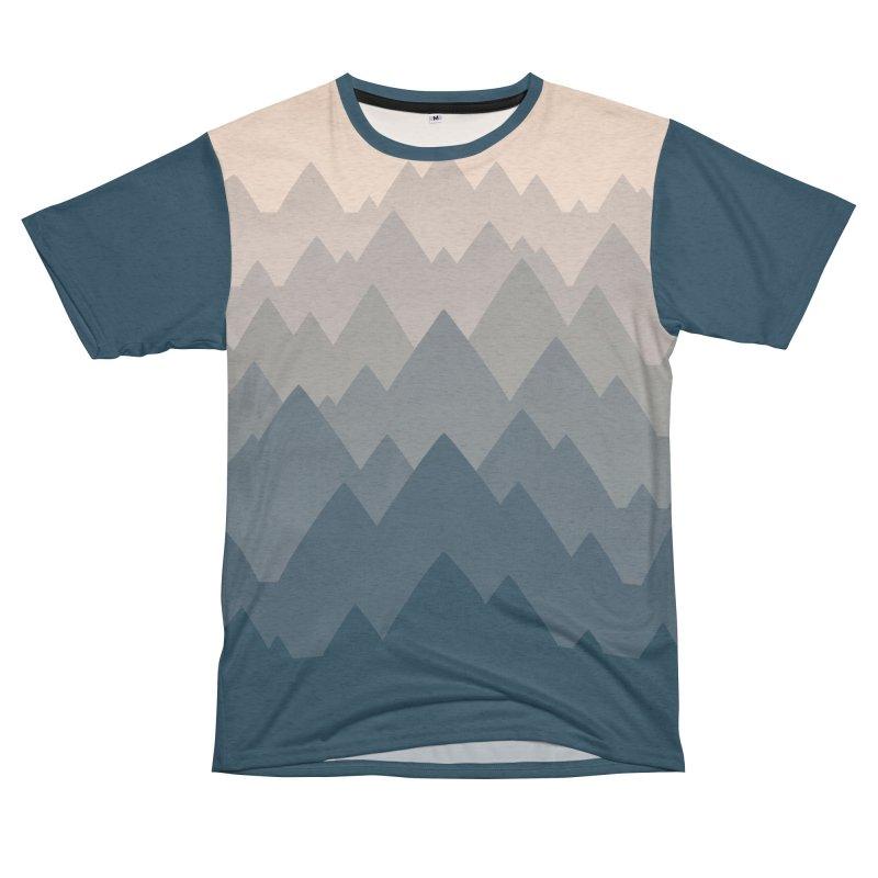 Mountain Vista : Afternoon Men's Cut & Sew by Waynem