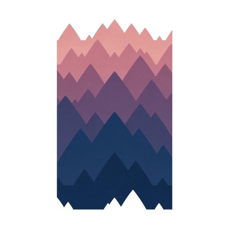 Mountain Vista : Sunset Home Duvet by Waynem